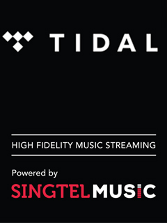 Lossless audio streaming service, Tidal, joins Singtel Music platform