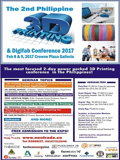 3D Printing and Digifab Conference 2017 to focus on awareness and application