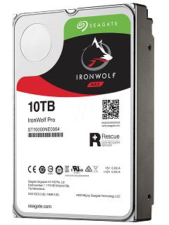 Seagate IronWolf Pro (10TB): Serious about NAS storage