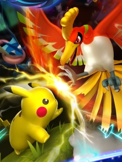 Pokémon Duel is a digital board game with a Pokémon skin