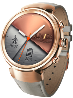 ASUS just released a new color for theZenWatch 3 – Rose Gold