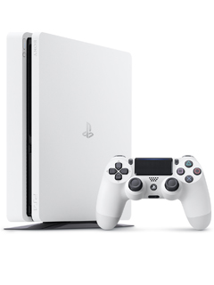 The Glacier White PlayStation 4 Slim will cost RM1,349