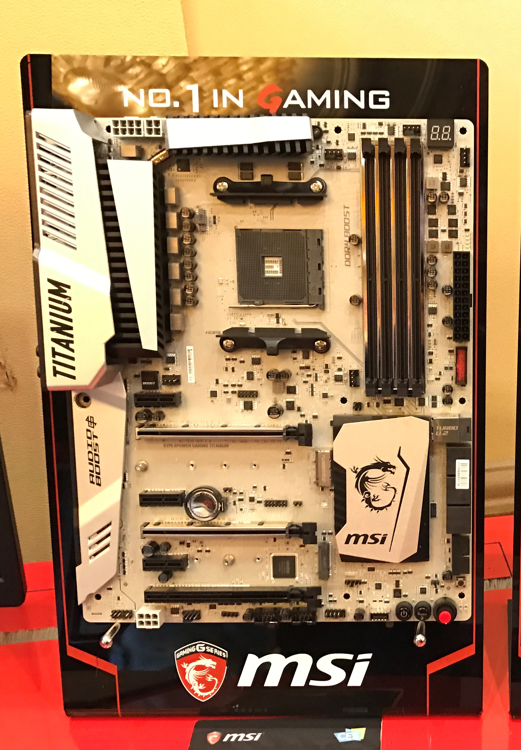 MSI shows off two AM4 Motherboards ready for AMD s Ryzen processors HardwareZone