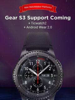 Thousands of watch faces are coming soon to the Samsung Gear S2 and S3