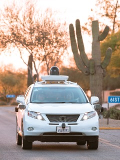 Google reveals new patent for its self-driving car