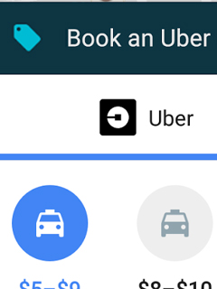 You can now hail an Uber ride within Google Maps