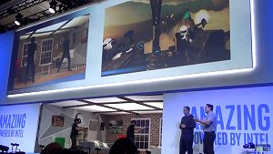 CES 2017: See Intel's CEO demo an untethered VR headset called Project Alloy
