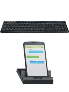 Logitech K375s wireless keyboard simplifies multitasking between desktops and phones