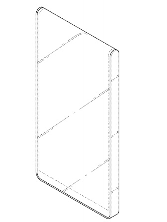 LG was also granted a patent for a foldable smartphone