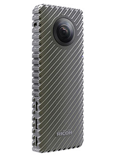 The Ricoh R is a 360-degree camera that can live stream for 24 hours straight