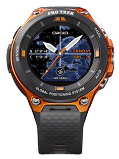 CES 2017: First look at the WSD-F20, Casio's new smart outdoor watch
