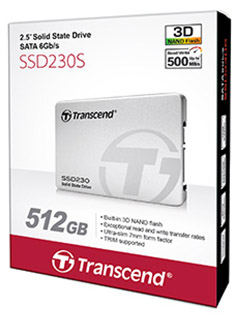 Transcend jumps onto 3D NAND bandwagon with new SSD230 SSD