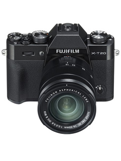This is the FUJIFILM X-T20, a more affordable version of the flagship X-T2