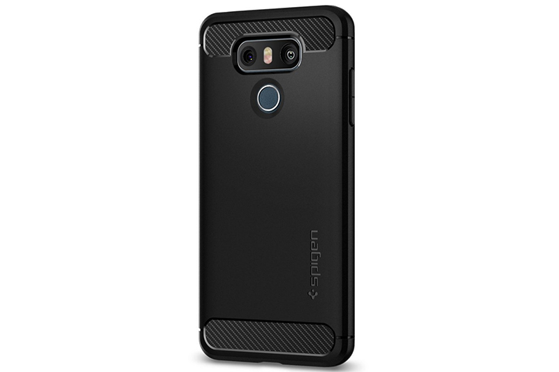 Spigen cases for the LG G6 phone appear on Amazon