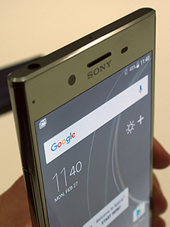 Hands-on: Sony Xperia XZ Premium at MWC 2017