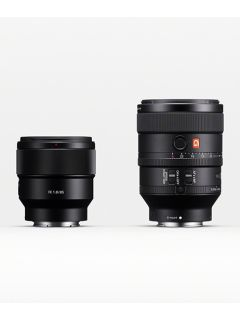 Sony unveils new mid-telephoto prime lens and compact flash