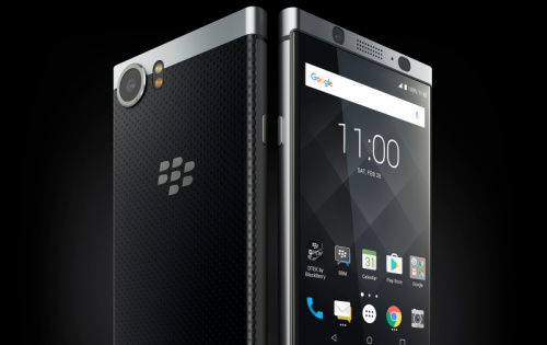 The BlackBerry Mercury is renamed the KEYone, available from April