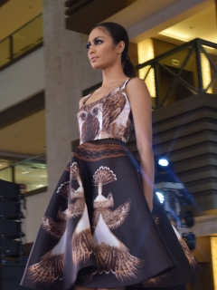 Epson partners with fashion designer John Herrera for an Aguila-inspired collection