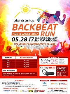 Plantronics' Backbeat Run for a Cause 2017 supports Kythe Foundation
