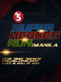 Be a true hero in TV5 Superheroes Run: Manila