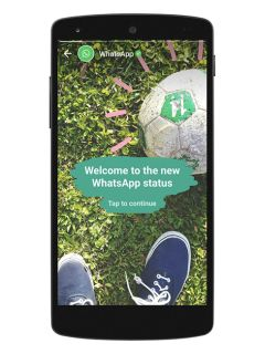 WhatsApp now has its own version of Snapchat Stories