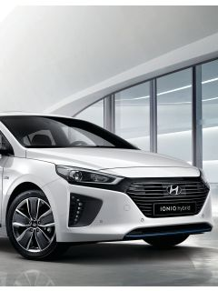 Meet the Hyundai IONIQ Hybrid (HEV Plus)