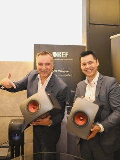 KEF opens its first concept store in Malaysia, launches LS50 Wireless