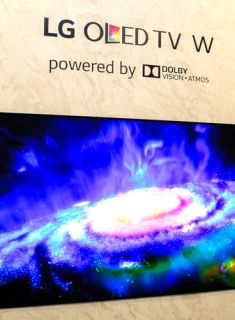 Photo gallery: The LG Signature OLED W7 is astonishingly thin