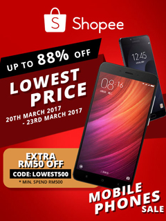 Shopee returns with its 'Lowest Price Mobile Phones' sale!