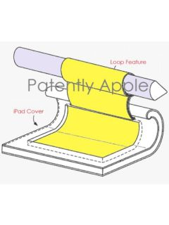 A new patent application by Apple reveals an Apple Pencil holder for the iPad