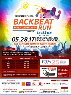 Brother Philippines jacks up Plantronics Backbeat Run with exciting prizes