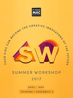 Power Mac Center invites kids to join their Summer Workshop 2017