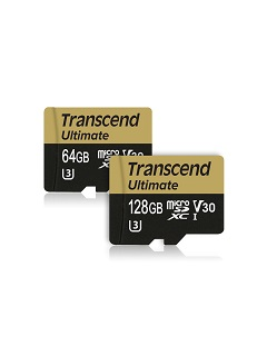 Transcend launches Ultimate microSD cards to support 4K Ultra HD video