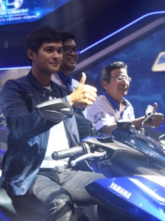 Yamaha celebrates 10th year, launches Mio Aerox 155 at Inside Racing Bikefest