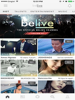 BeLive lets users showcase their talent, gives financial pay-off to performers