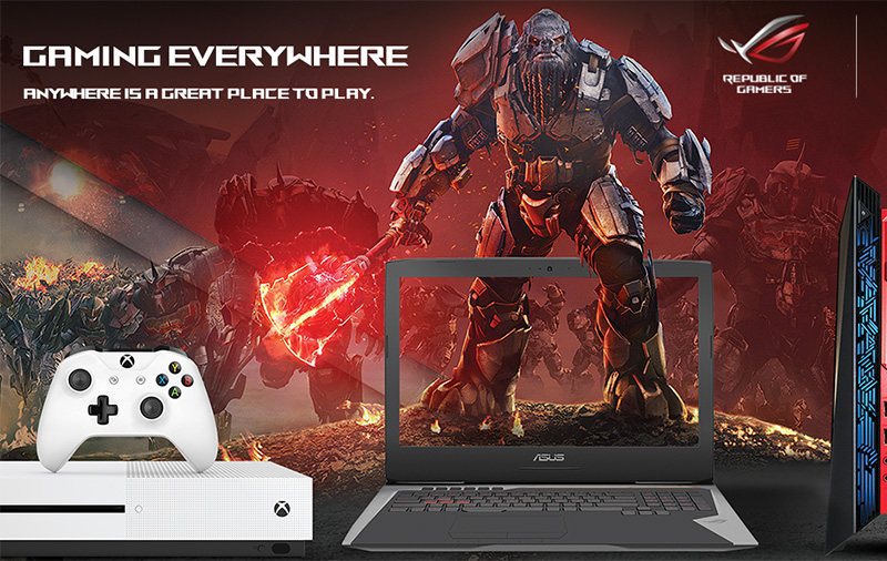 Deal Alert: Here are 8 ASUS ROG + Xbox One S gaming bundles you can find on Hachi.tech right now