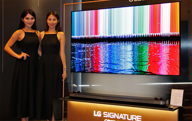LG is bringing several OLED TV series to Singapore, including the insanely-thin Signature W7T. If that's out of your budget, there's also the G7T, E7T, ...