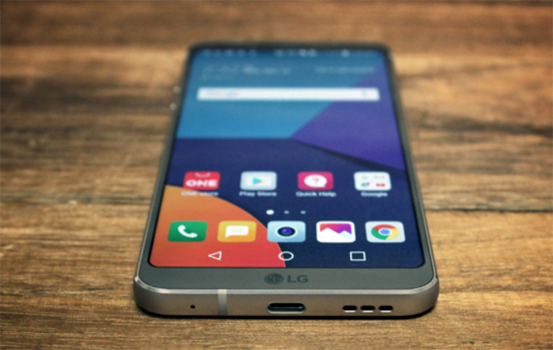 The LG G6 also supports USB Power Delivery for fast charging