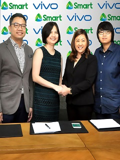 Smart partners with Vivo to bring more LTE-capable devices in PH market