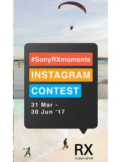 Join the #SonyRXMoments Instagram contest to win an RX1R II!