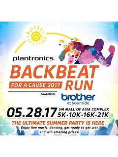 Run for a cause with Platronics' Backbeat Run 2017