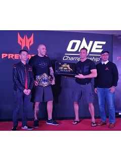 Predator Philippines partners up with ONE Championship
