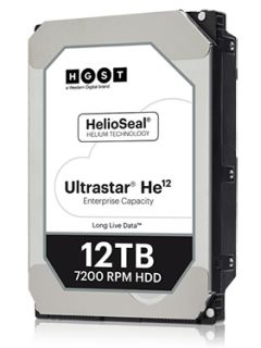 Western Digital's new helium-filled drive packs 12TB of storage