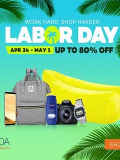 Lazada Philippines offers Labor Day Sale this April 24 to May 1