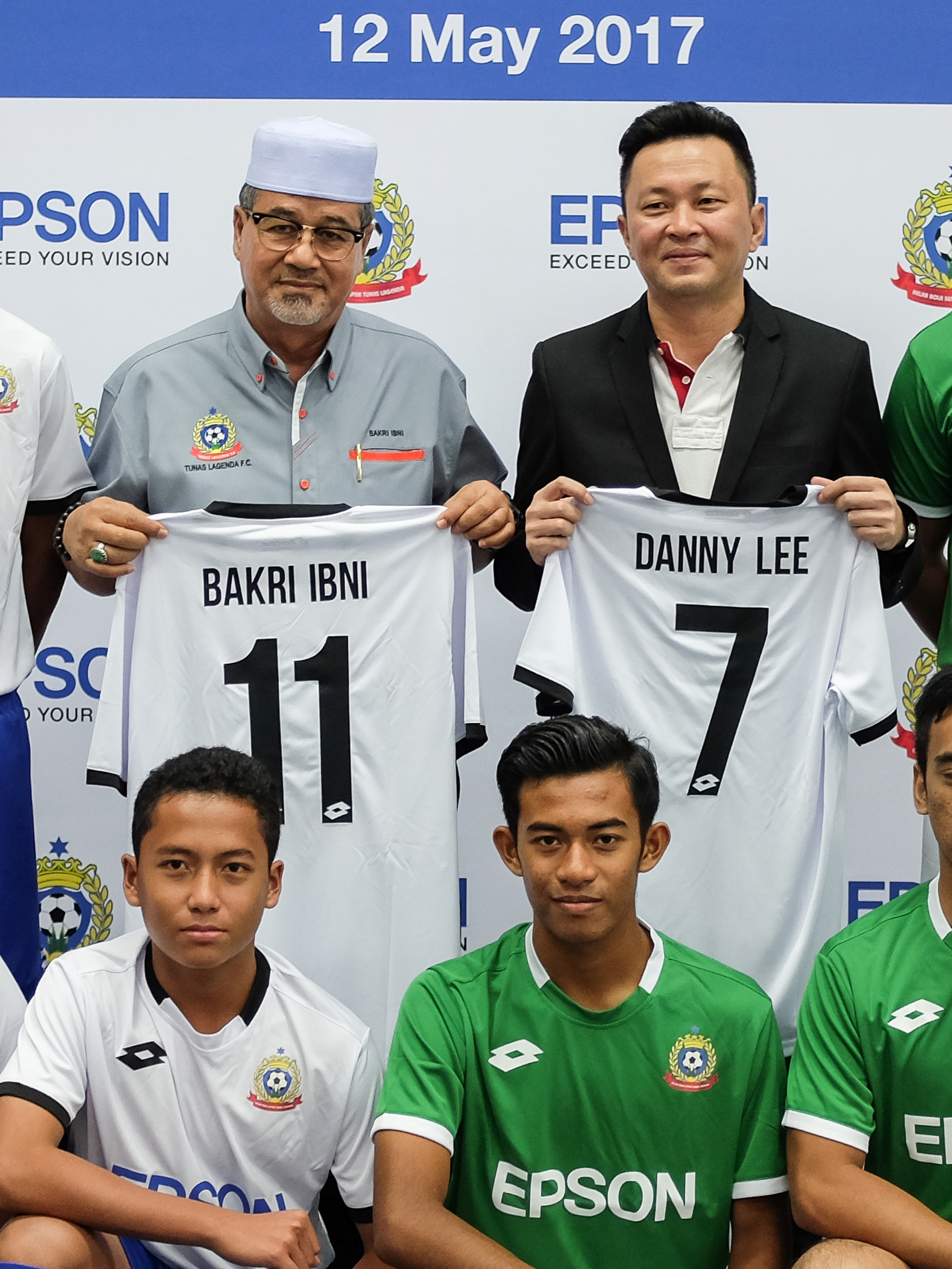 Epson Malaysia signs sponsorship agreement with Tunas Lagenda Football Club