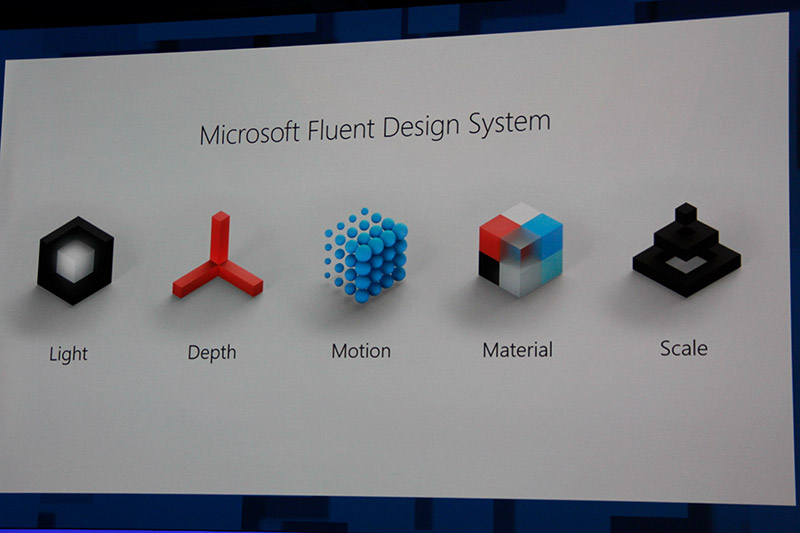Microsoft Fluent Design System is the design language guiding Windows 10's new look and feel