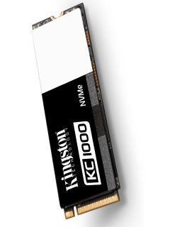 Kingston announces its new lightning-fast KC1000 NVMe PCIe SSD