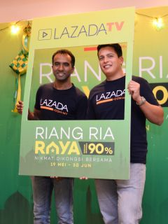 Lazada TV is here, 'Riang Ria Raya' campaign offers up to 90-percent discount