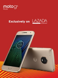 Moto G5 Plus to be a Lazada exclusive