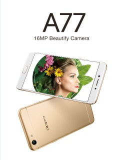 OPPO announces the A77 selfie-centric smartphone, available end of May